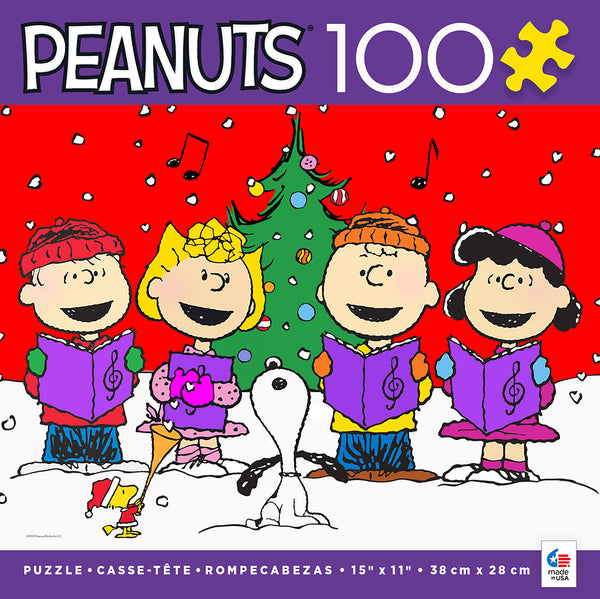 Holiday Peanuts - Joy - 100 Piece Puzzle