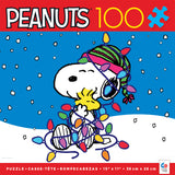 Holiday Peanuts - Holiday Snoopy - 100 Piece Puzzle