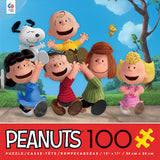 Peanuts - Friends - 100 Piece Puzzle