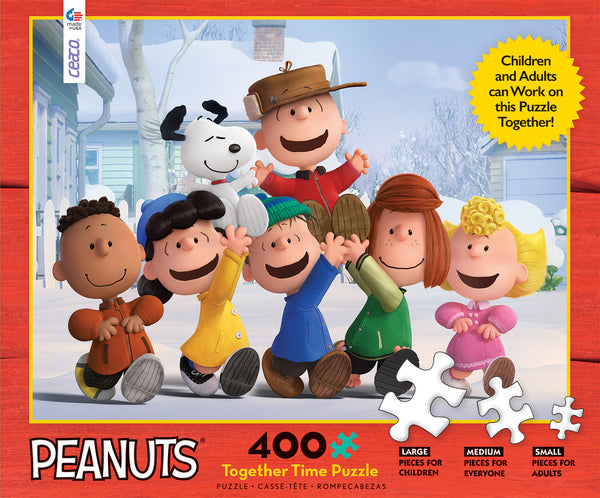 Holiday Together Time - Peanuts - 400 Piece Puzzle