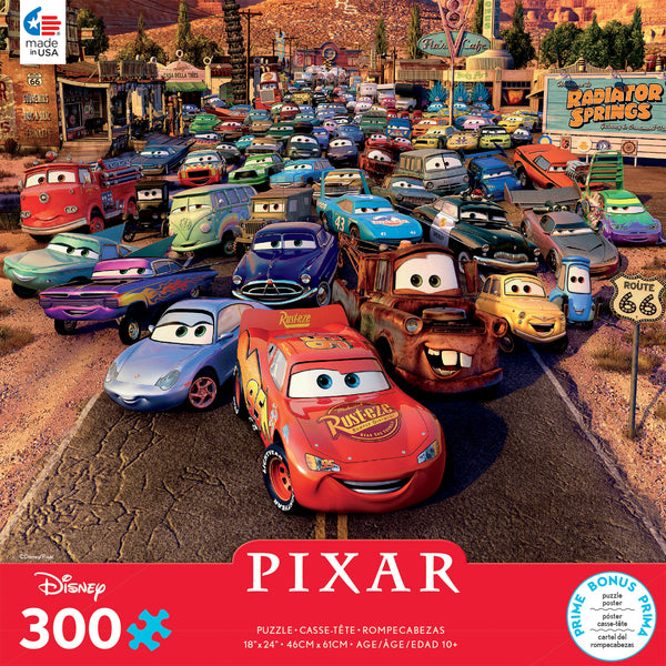 Disney 300 Oversized Pieces - Cars - 300 Piece Puzzle