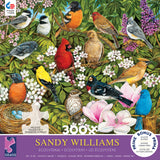 Sandy Williams- Garden Birds - 300 Piece Puzzle