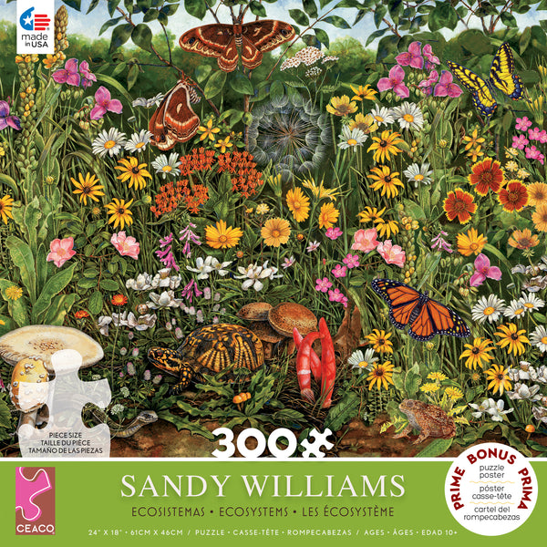 Sandy Williams- Midwest Summer - 300 Piece Puzzle