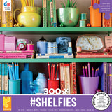 #Shelfies - Rainbow Shelf - 300 Piece Puzzle