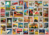 Stamps - Car Stamps - 1000 Piece Puzzle