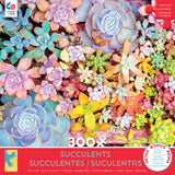 Succulents - Pretty Pastels - 300 Piece Puzzle