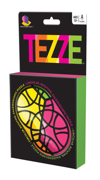 Tezze - The Circular Kaleidoscopic Puzzle