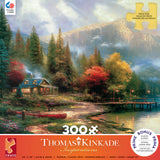 Thomas Kinkade - The End of a Perfect Day 2 - 300 Piece Puzzle
