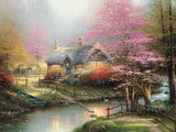 Thomas Kinkade - Stepping Stone - 300 Piece Puzzle