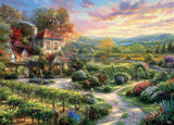 Thomas Kinkade - Wine Country Living - 1000 Piece Puzzle