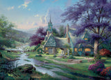 Thomas Kinkade - Clocktower Cottage - 1000 Piece Puzzle