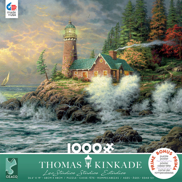 Thomas Kinkade - Courage - 1000 Piece Puzzle