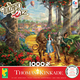 Thomas Kinkade Movie Classics -Follow the Yellow Brick Road - 1000 Piece Puzzle
