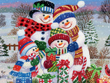 'Tis the Season - Snow Family - 550 Piece Puzzle