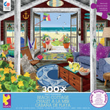 Tracy Flickinger - Beach Cottage - 300 Piece Puzzle