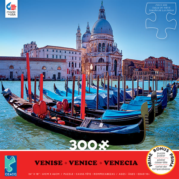 Scenic Photography - Venice - 300 Piece Puzzle