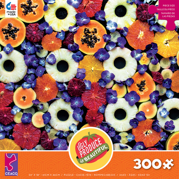 Ugly Produce - Almost Spring Color Mix - 300 Piece Puzzle