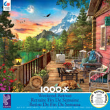 Weekend Retreat - Mountain View - 1000 Piece Puzzle