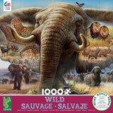 Wild - Elephant Collage - 1000 Piece Puzzle