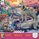 Wolves - Winter Wolves - 1000 Piece Puzzle