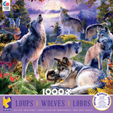 Wolves - Wolf Pack - 1000 Piece Puzzle