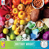 Brittany Wright - Food Medley - 750 Piece Puzzle