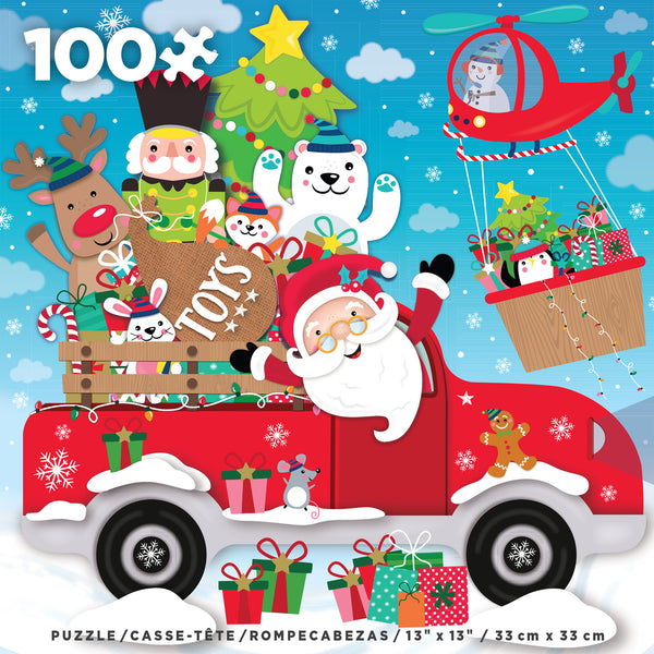 Holiday 100 Piece - Oh What Fun! - 100 piece puzzle
