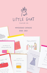 Little Goat Paper Co. Wholesale Catalog 2020