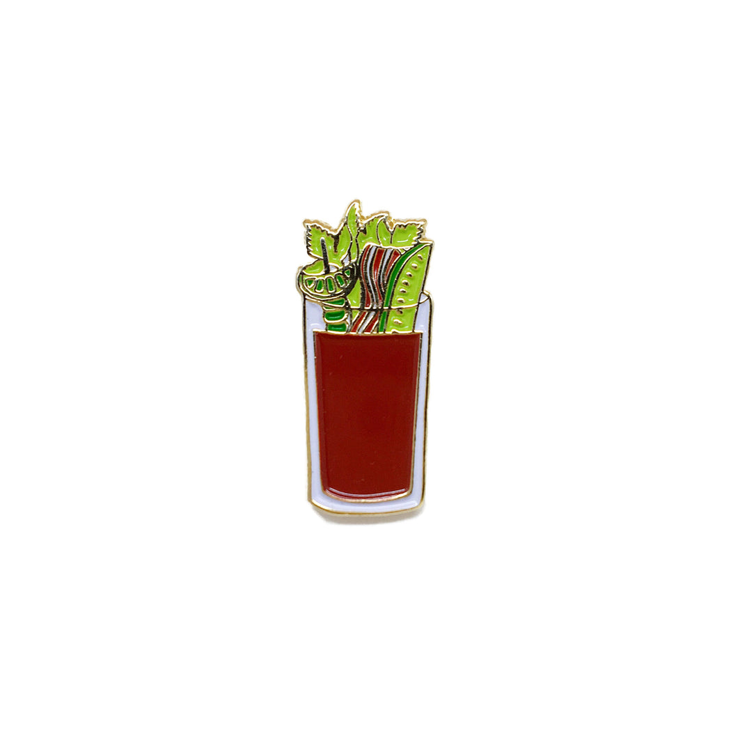 bloody mary enamel pin
