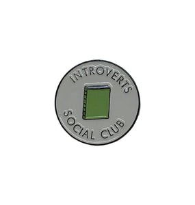 Introverts Social Club Enamel Pin