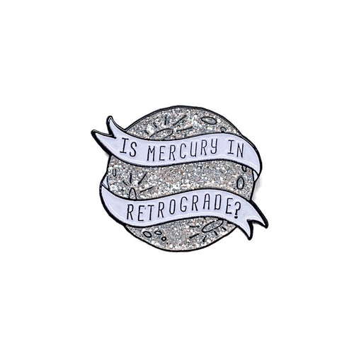 mercury retrograde pin