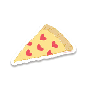 pizza love sticker