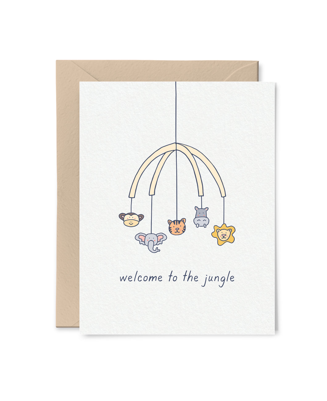 Welcome to the Jungle Card
