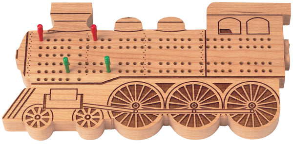 Train Engine Cribbage