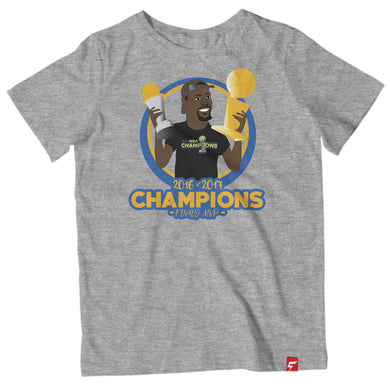 KD Durant Finals MVP Champs Golden State Tee Shirt ( 4 Colors)