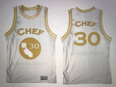 Chef Curry 30 Golden State Jersey