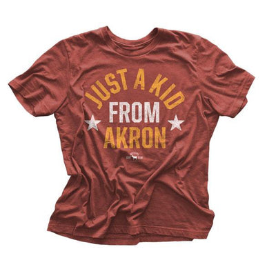 "Just a ""Kid From Akron"" Vintage LeBron Shirt"