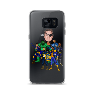 The Avengers Infinity Warriors Samsung Cases
