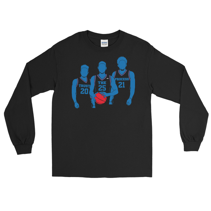 Trust the Process (Fultz, Simmons, Embiid) Long Sleeve T-Shirt
