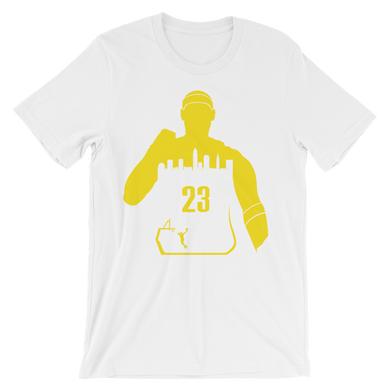 King James #23 My City (Cleveland) Tee Shirt