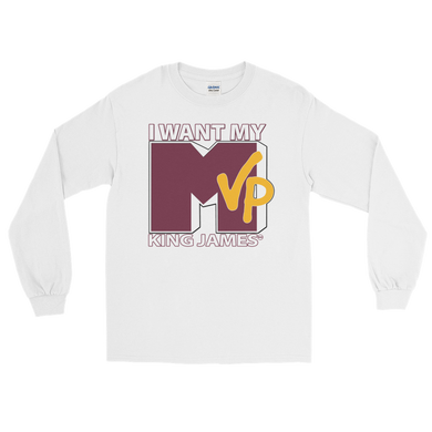 I Want My MVP (MTV Throwback) King James Long Sleeve T-Shirt