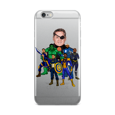 The Avengers Infinity Warriors iPhone Case