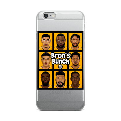 Bron's Bunch (Brady Bunch Parody) iPhone Case (ALL IPHONES)