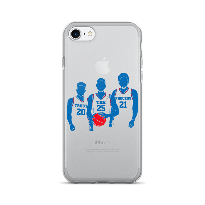 Trust the Process (Fultz Simmons Embiid) iPhone 7/7 Plus Case