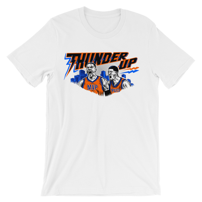 OKC Thunder Up (Russ and PG) Tee Shirt