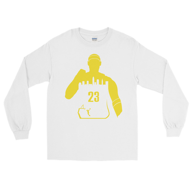 King James #23 My City (Cleveland) Long Sleeve Shirt
