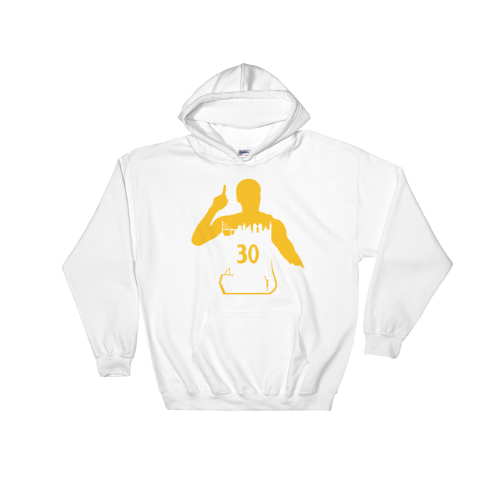 Curry #30 My City (Golden State) Hooded Sweatshirt