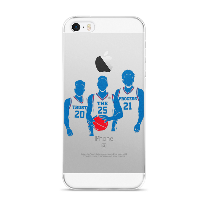 Trust the Process (Fultz Simmons Embiid) iPhone 5/5s/Se, 6/6s, 6/6s Plus Case