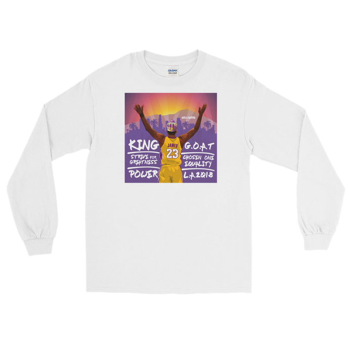 Los Angeles LeBron (2K Inspired) Long Sleeve T-Shirt
