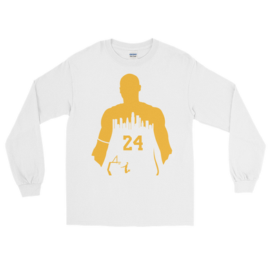 KOBE #24 My City (Los Angeles) Long Sleeve Shirt
